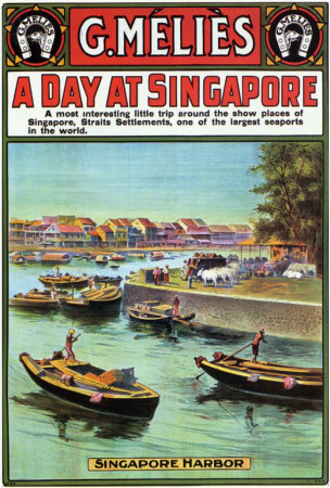 A Day at Singapore Posters
