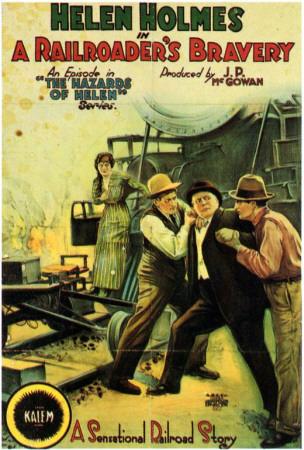 A Railroader's Bravery Print