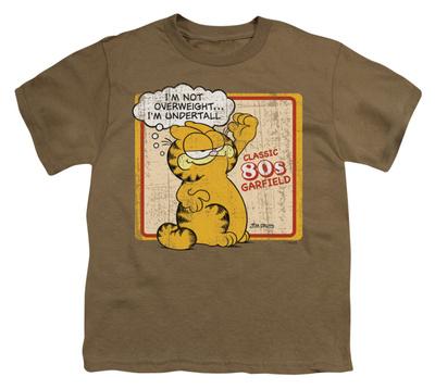 Youth: Garfield - Undertall Shirts