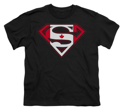 Youth: Superman - Canadian Shield T-Shirt