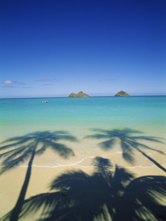 Lanikai Beach, Kailua, Hawaii, USA Photographic Print by Douglas Peebles