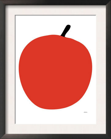 Red Apple Posters by  Avalisa
