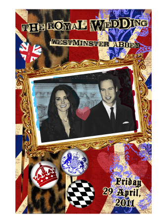 Prince William and Kate Middleton, The Royal Wedding Scrapbook Plakater