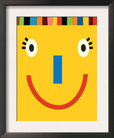 Yellow Smiling Face Posters