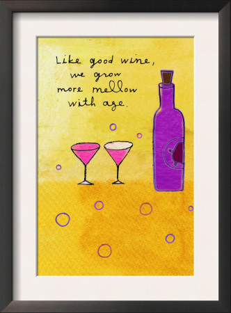 Wine and Aging Prints
