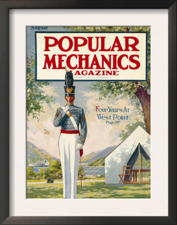 Popular Mechanics, August 1913 Prints