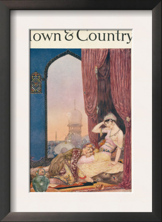 Town & Country, January 20th, 1916 Poster