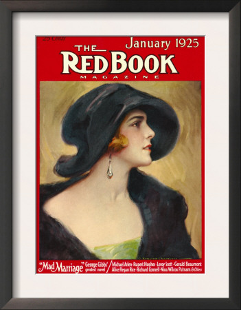 Redbook, January 1925 Posters