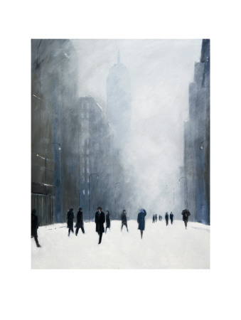 Blizzard - 5th Avenue Posters af Jon Barker