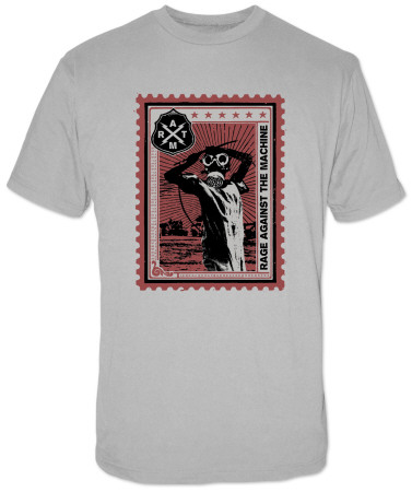 Rage Against the Machine - Postage Stamp Tshirts