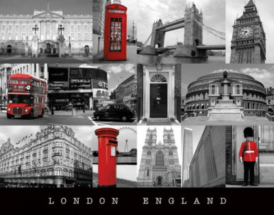 London (England) Mini-affiche