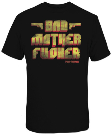 Pulp Fiction - Bad Mother F***er T-Shirt