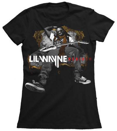 Juniors: Lil Wayne - Hot Revolver T-Shirt