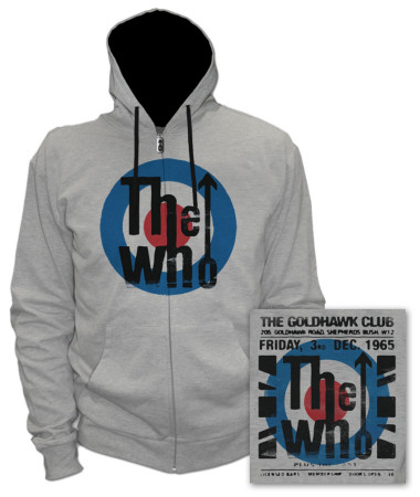 Zip Hoodie: The Who - The Club T-Shirt