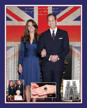 Royal Wedding (Will & Kate) Poster