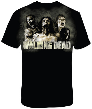 The Walking Dead - Zombies Cracked T-Shirt