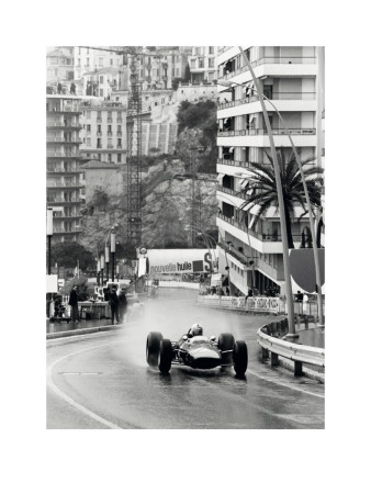 Monaco Grand Prix Poster by  Anon