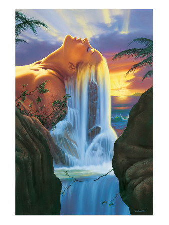 Island Dreams Premium Giclee Print by Jim Warren