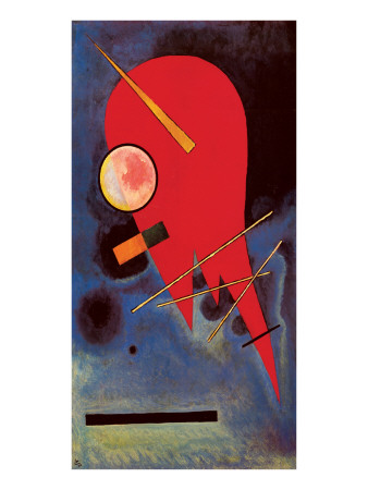 Rouge Premium Giclee Print by Wassily Kandinsky