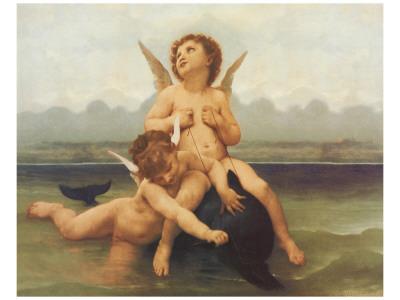 Birth of Venus (detail) Premium Giclee Print by William Adolphe Bouguereau