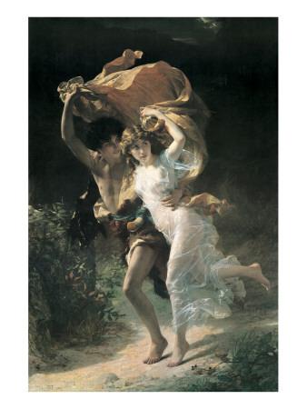 The Storm Lámina giclée prémium por Pierre-Auguste Cot