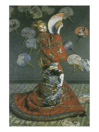 The Japanese Woman Premium Giclee Print