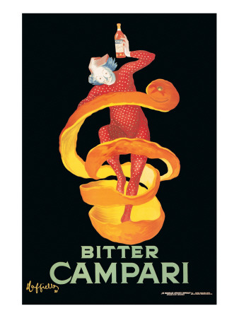 Bitter Campari Reproduction procédé giclée Premium
