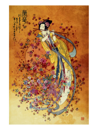 Goddess of Prosperity Premium Giclee Print