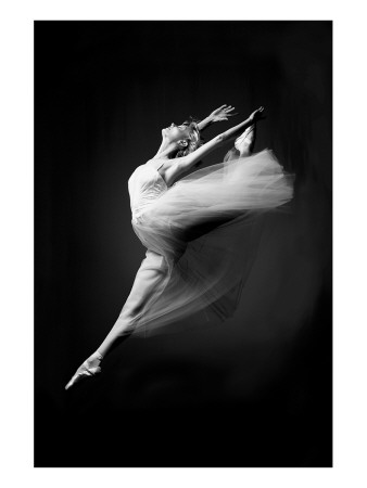 Grace in Motion Premium Giclee Print
