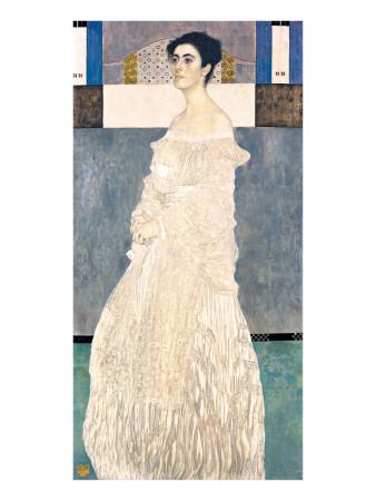 Portrait of Margarethe Stonborough-Wittgenstein Exklusivt gicléetryck av J. E. H. MacDonald
