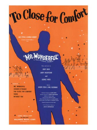 Song Sheet Cover: Too Close For Comfort, Mr Wonderful Premium Giclee Print