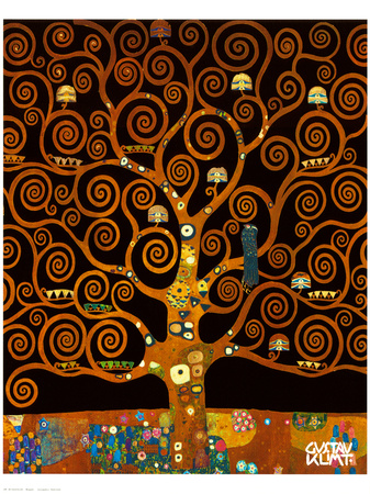 Under the Tree of Life Reproduction procédé giclée Premium