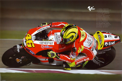 Moto G.P. - Valentino Rossi 2011 Affiche