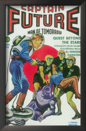 Captain Future - Pulp Poster, 1942 Posters