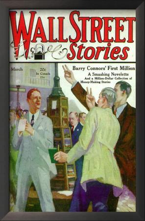 Wall Street Stories - Pulp Poster, 1929 Print