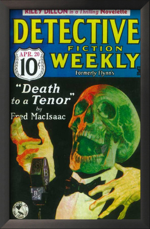Detective Fiction Weekly - Pulp Poster, 1935 Prints