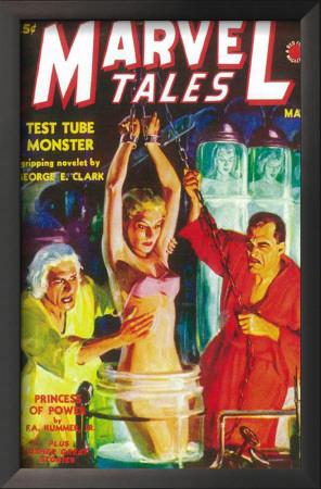 Marvel Tales - Pulp Poster, 1940 Art
