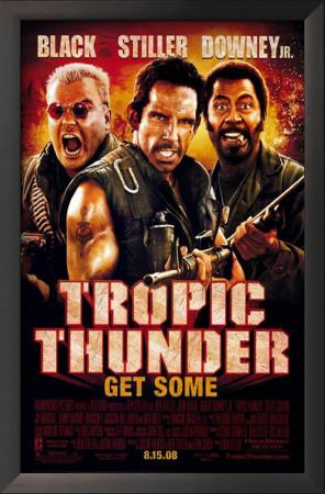 Tropic Thunder Art
