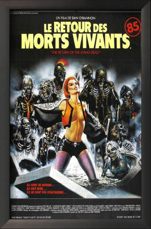 The Return of the Living Dead - French Style Print