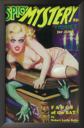 Spicy Mystery Stories - Pulp Poster, 1936 Posters