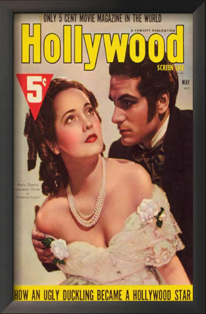 Merle Oberon - Hollywood Magazine Cover 1930's Posters