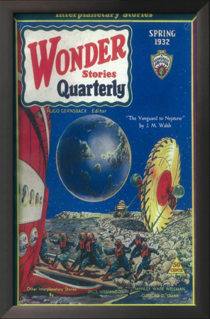 Wonder Stories Quarterly - Pulp Poster, 1932 Posters