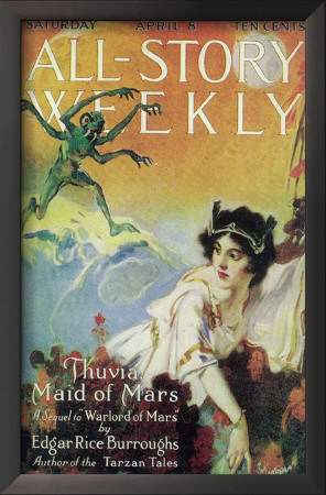 All-Story Weekly - Pulp Poster, 1916 Posters