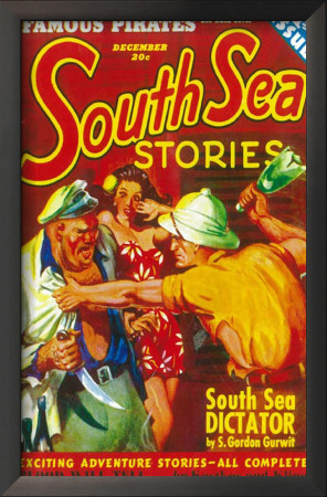 South Sea Stories - Pulp Poster, 1939 Prints