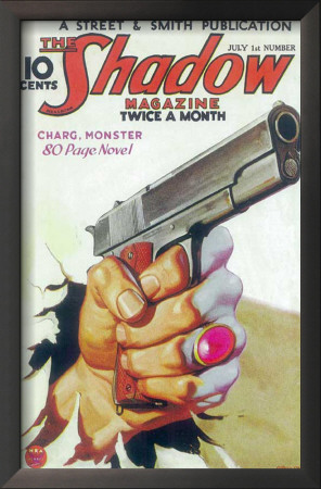 Shadow Magazine, The - Pulp Poster, 1934 Prints