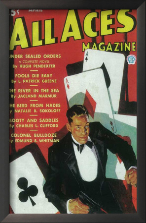 All Aces Magazine - Pulp Poster, 1936 Prints