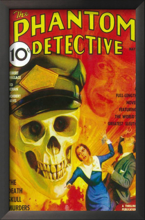 Phantom Detective, The - Pulp Poster, 1936 Prints