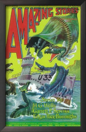 Amazing Stories - Pulp Poster, 1935 Prints