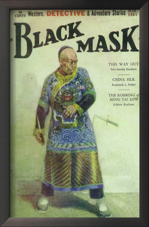 Black Mask - Pulp Poster, 1927 Posters