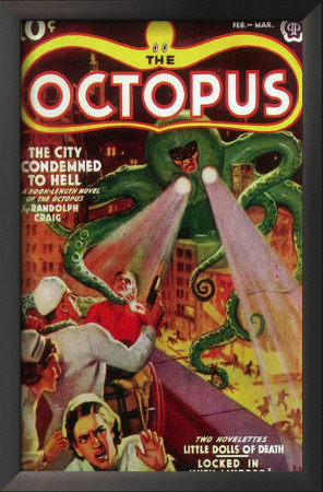 Octopus, The - Pulp Poster, 1939 Prints
